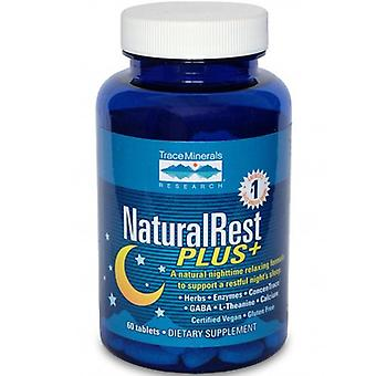 Trace Minerals NaturalRest Plus, 60 Tabs