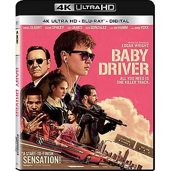 Baby Driver [Blu-ray] USA import