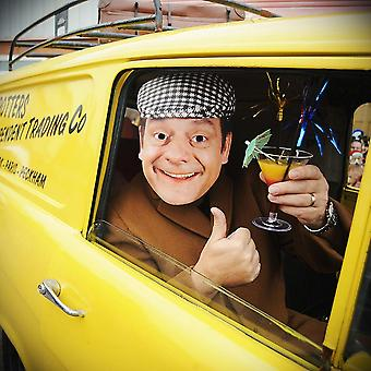 Only Fools And Horses Del Boy Character Party Face Mask