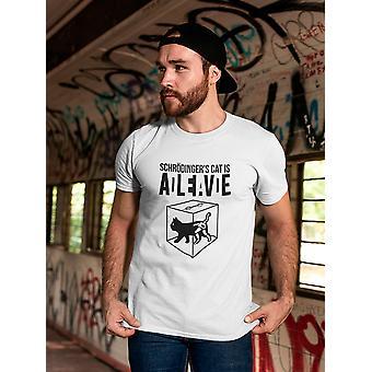 Schrodinger's Cat's Alive Dead Men's T-Shirt