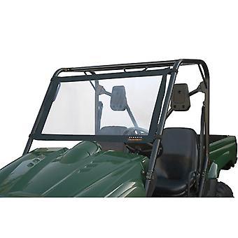 Classic 78627 Quadgear UTV Windshield-Others Black/PVC -LRG