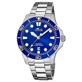 Lotus Men's Stainless Steel Bracelet | Blue Dial L18759/1 Watch