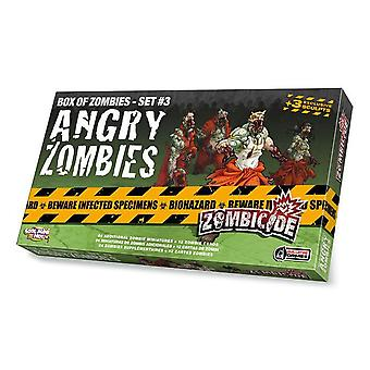 Zombicide Angry Zombies Box of Zombies (Set 3)