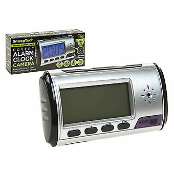 SnoopTech Covert Alarm Clock with Video Camera for Security & Surveillance