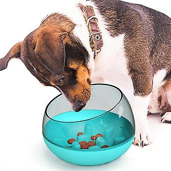 Nonslip Anti Gulping Pet Slow Eating Feeder Water Bowl For Large Dogs