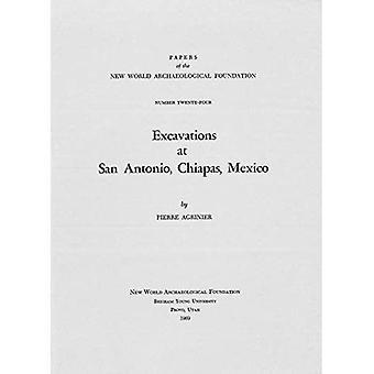 Excavations at San Antonio,� Chiapas, Mexico: Number 24
