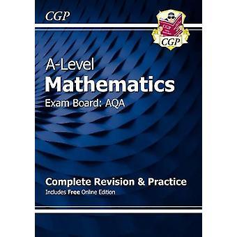 CGP A niveau wiskunde AQA Complete revisie en praktijk