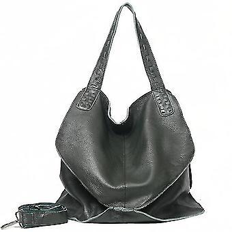 Echtes Leder Handtaschen große Kapazität Frauen Taschen Multifunktions Schultertasche