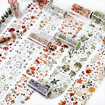 Flower House Series Lovely Cute Fresh Decorative Pet Tape