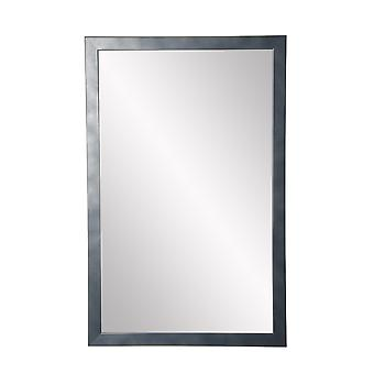 Miroir slim cut accent gunmetal