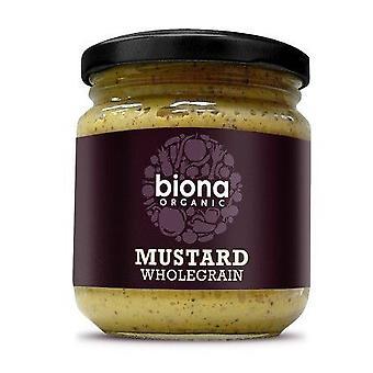 Biona Organicanic Moutarde à grains entiers 200g x6