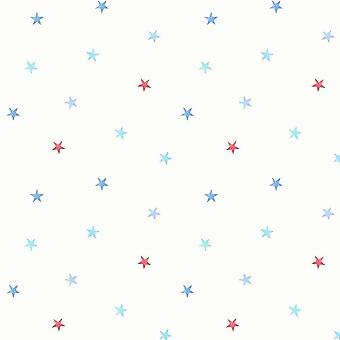 CAROUSEL COLOURFUL STARS CHILDREN WALLPAPER FINE DECOR