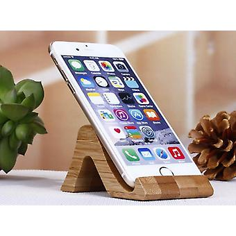 Environmental Protection Bamboo Cellphone Stand