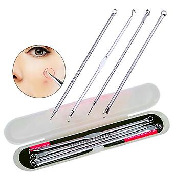 Acne Blackhead Removal, Pimple Spot Extractor Stainless Steel Needles