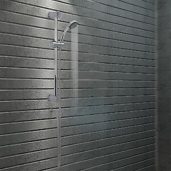 Shower rod set with hand shower metal