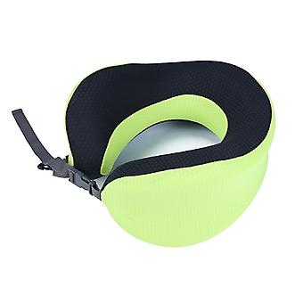 Adjustable U-shaped  Memory Foam Neck Pillow for Sleeping on Travel Office