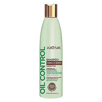 Schampo oljekontroll Kativa (250 ml) (250 ml)