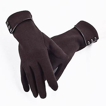 Women Touch Screen Winter Gloves Autumn Warm Gloves Wrist Mittens Driving Ski