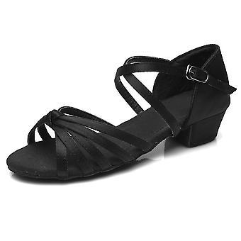 Sapatos sapatos de dança de salto baixo