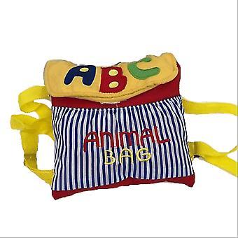My abc animal plush bag & backpack