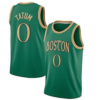 Boston Celtics No.0 Jayson Tatum Loose Basketball Jersey Sports Shirts 3QY065
