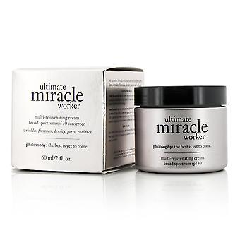 Ultimate mirakel arbejdstager multi foryngende creme spf 30 (exp. dato: 09/2021) 259416 60ml/2oz