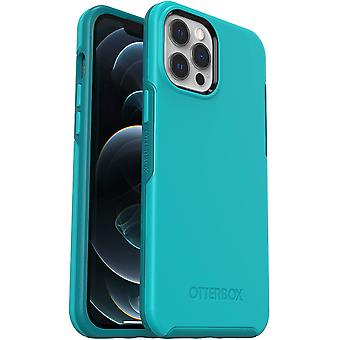 OtterBox Symmetry Series, Sleek Protection for Apple iPhone 12 Pro Max - Blue