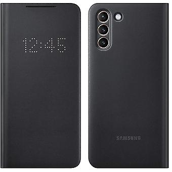 Official Samsung Galaxy S21+ Plus 5G LED View Cover Flip Case- Black