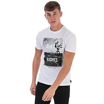 Men's Armani Graphic Logo T-Shirt in Wit