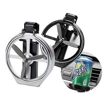 Car Air Outlet Drink Holder Car Case Water Cup Holder Car Drink Holder  (black)