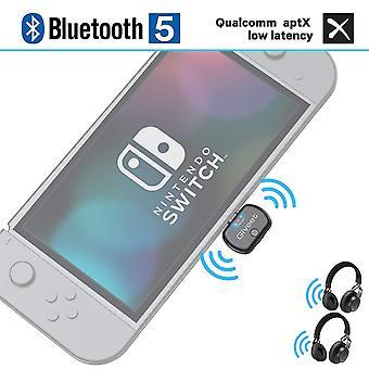 Adaptér usb audio vysílače Giveet s usb konektorem typu C, podpora hlasového chatu ve hře, du