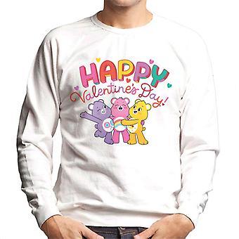 Care Bears låse opp den magiske happy valentinsdag menn's sweatshirt