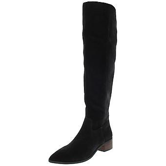 Lucky Brand Womens Kitrie pekade tå över knä mode boots