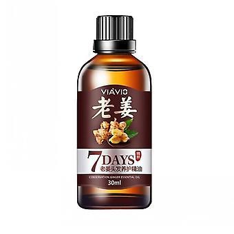 Hot Sale Fast Hair Growth Dense Regrowth Ginger Serum Oil Anti Loss Treatment