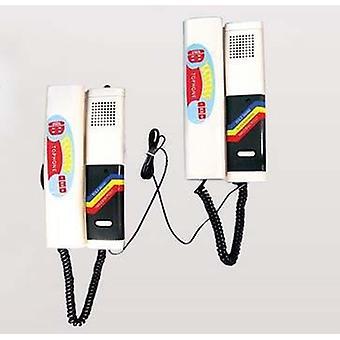 Home Security Intercom System 2-vodičový dc audio dverový telefón, Easy Diy