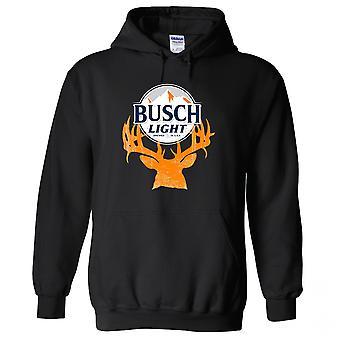 Busch Light Deer Horns Hunter Logo Hoodie