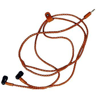 Hand candy Genuine leather headphones Universal 3.5mm