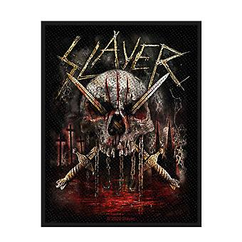 Slayer Patch Skull and Swords Band Logo new Official