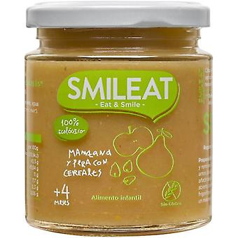 SMILEAT Treated Mazana and Pear with Organic Cereals 230 gr