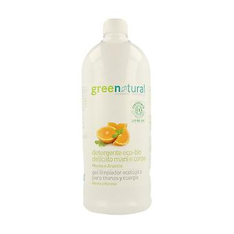 Mint and Orange Delicate Hand and Body Gel 1 L