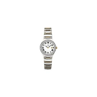 Accurist 8204 Deux Toned Gold & Silver Stainless Steel Ladies Watch
