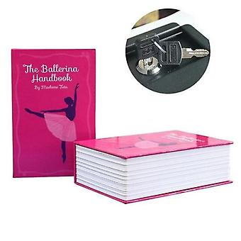 18x11.5x5.5cm Combination Lock Hidden-safe Box/ Strongbox Steel Simulation Book