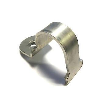 Quick-release roestvrijstalen klem (50 mm nb 60,3 mm od) voor gebruik met Unistrut/Oglaend kanalen