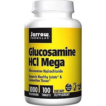 Jarrow Formulas Glucosamine HCl Mega 1000mg Tabs 100
