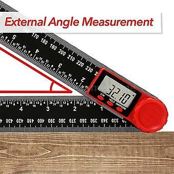 200mm digitalt instrument vinkel hældningsvinkel Digital Skala Elektronisk Goniometer Vinkel Detektor