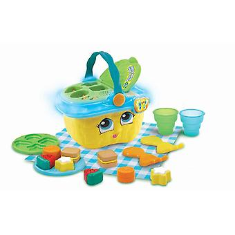 Leap frog shapes & sharing picnic basket