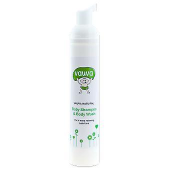 Vauva Natural Baby Shampoo & Body Wash 100ml