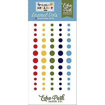 Echo Park Little Dreamer Boy Enamel Dots