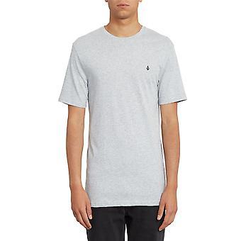 Volcom Men's Camiseta ~ Stone Blanks gris