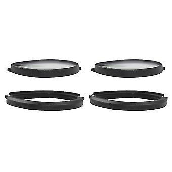 1Pair cadre magnétique lunettes noires pour oculus quest 2 vr protection oculus quest 2 accessoires de lunettes vr